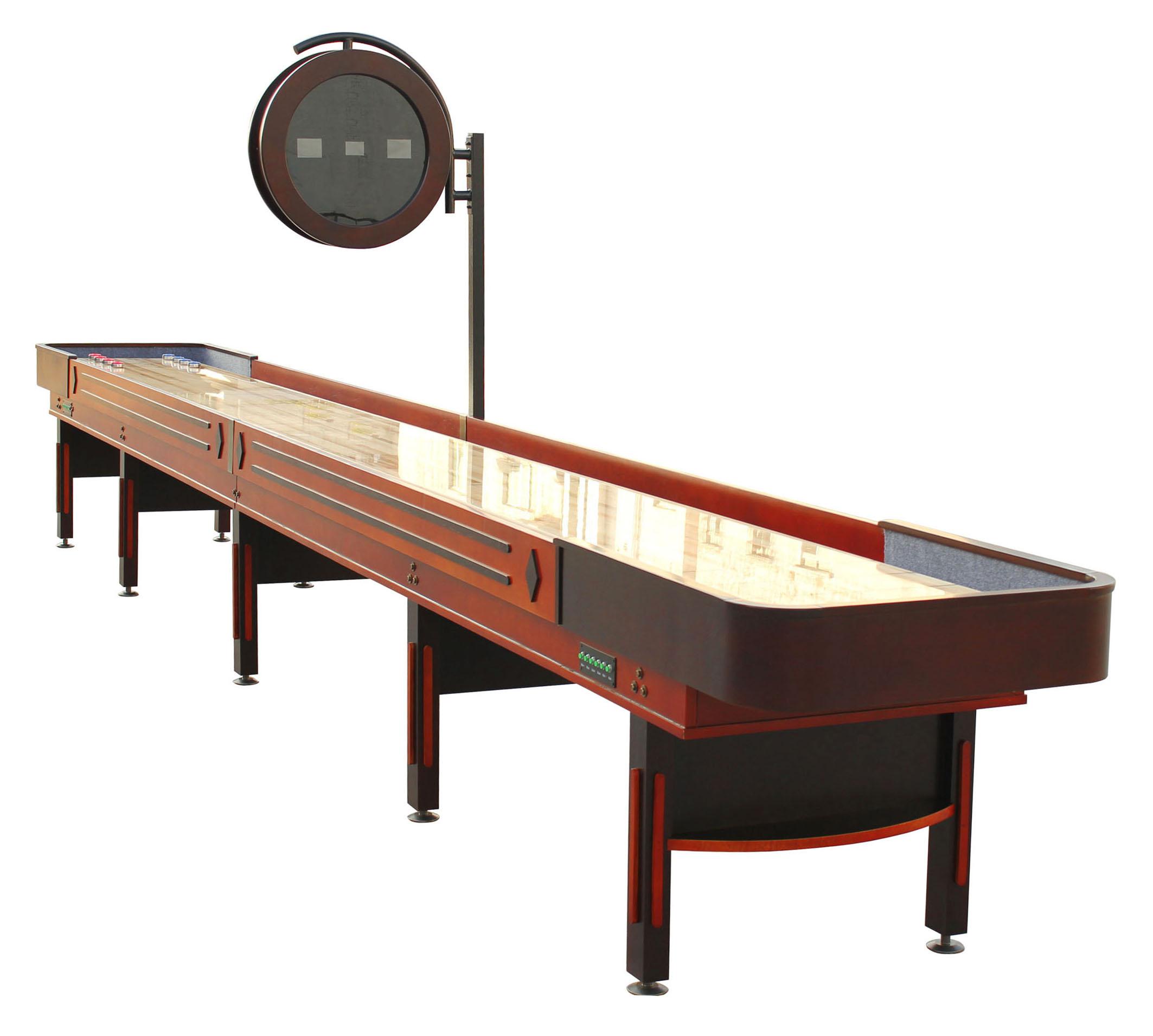 Nordic shuffleboard 12 fot Classic inklusive tilbehør