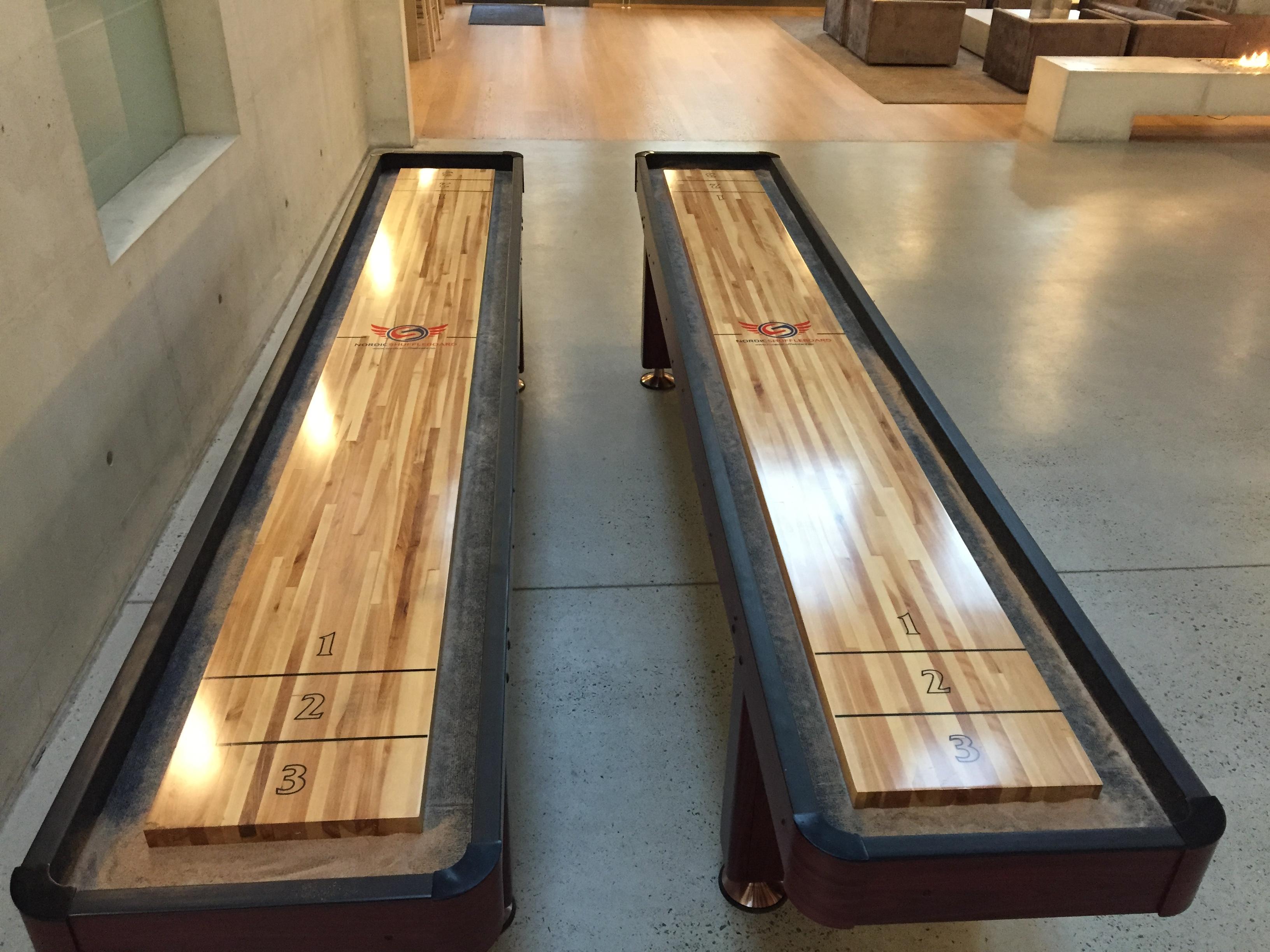 Nordic shuffleboard 12 fot Standard for utleie og salg