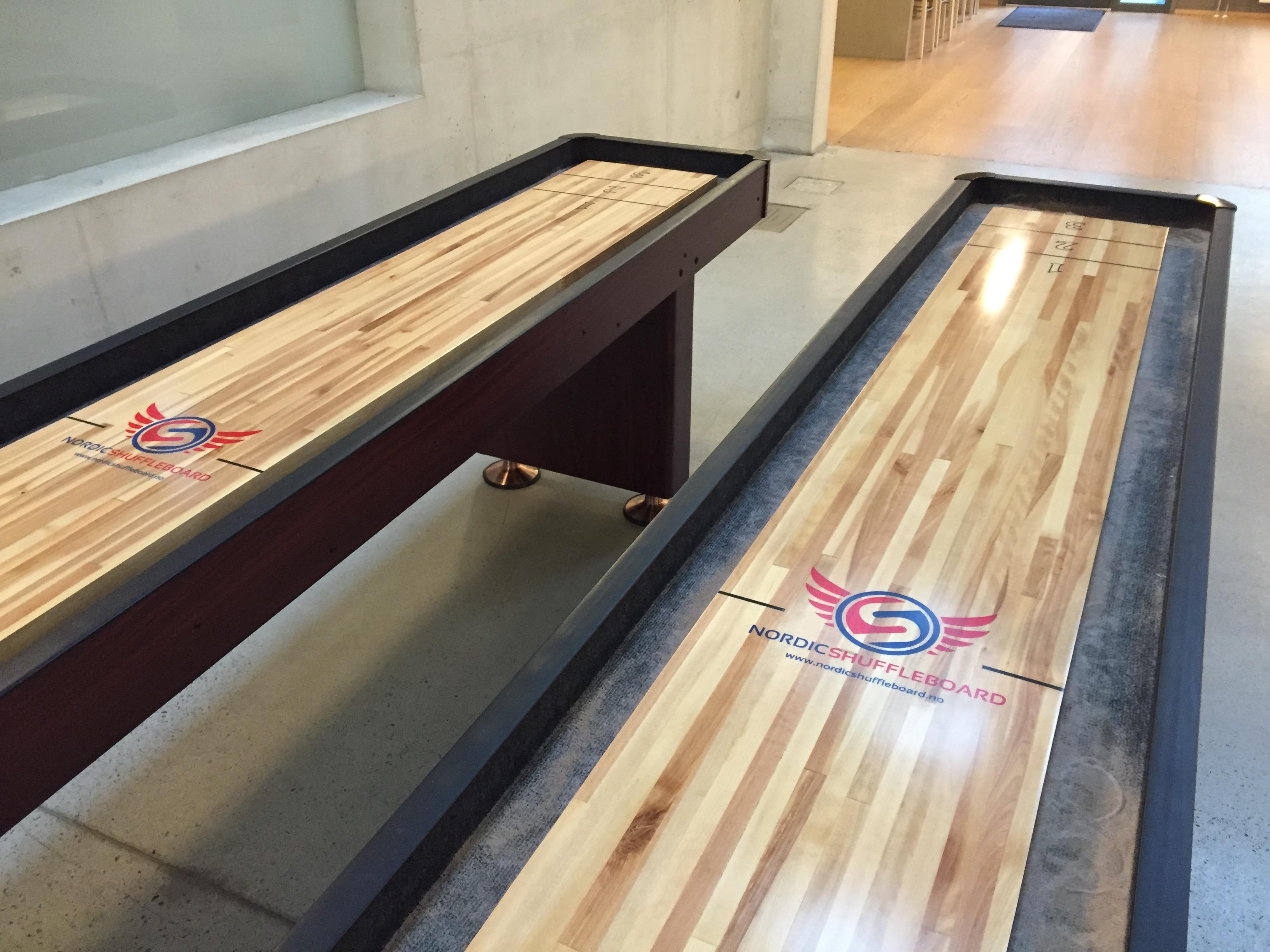 Shuffleboard 12 fot Standard for kort og langtidsutleie