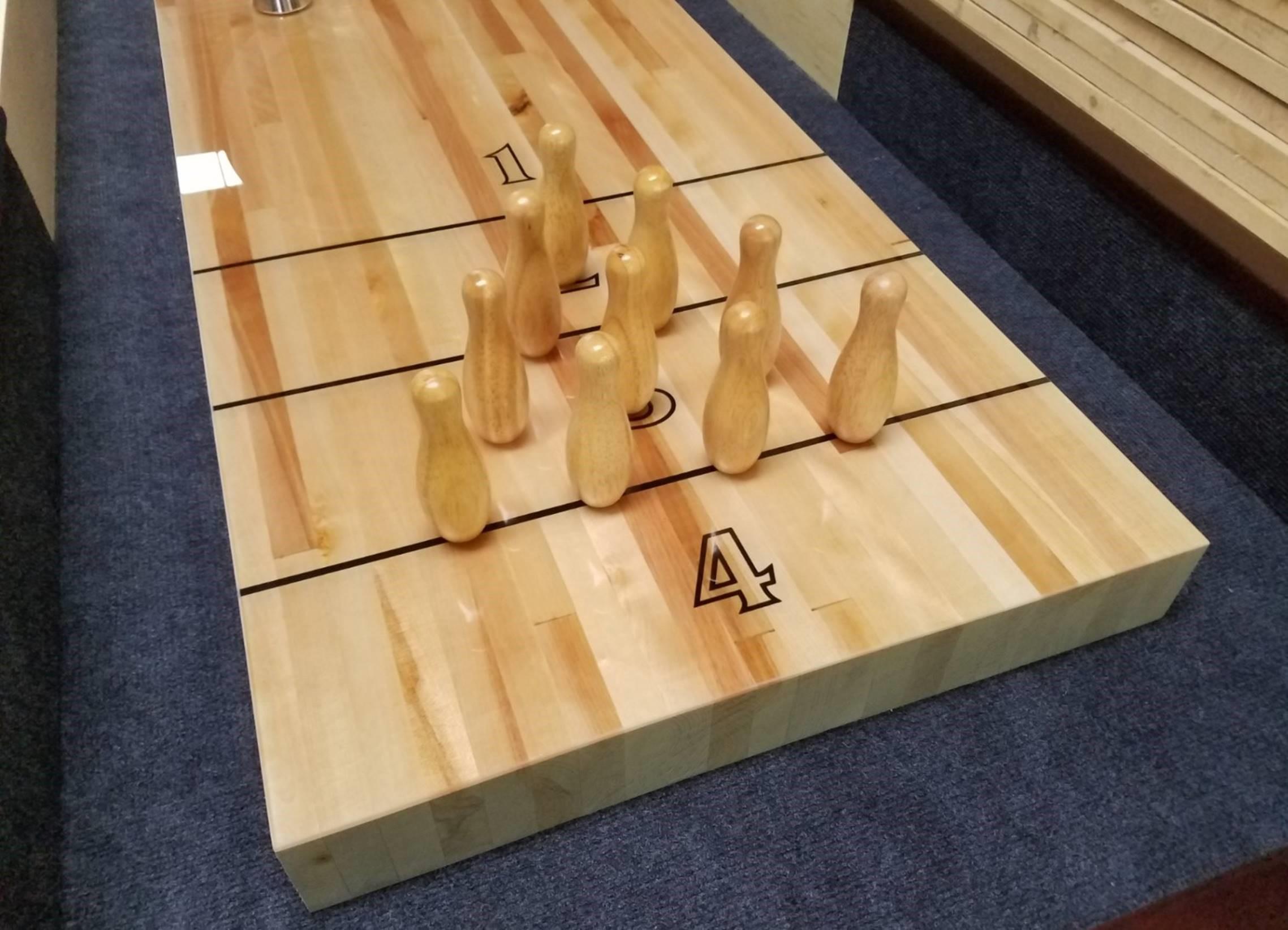 bowlingkjegler til shuffleboard