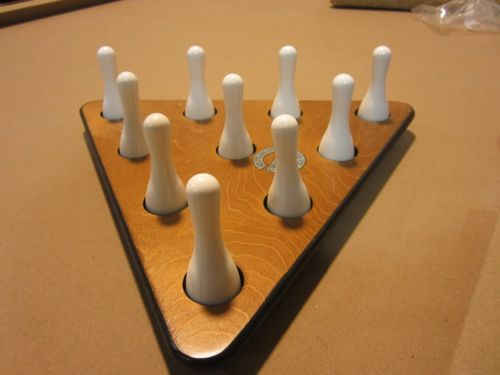 shuffleboard bowling sett
